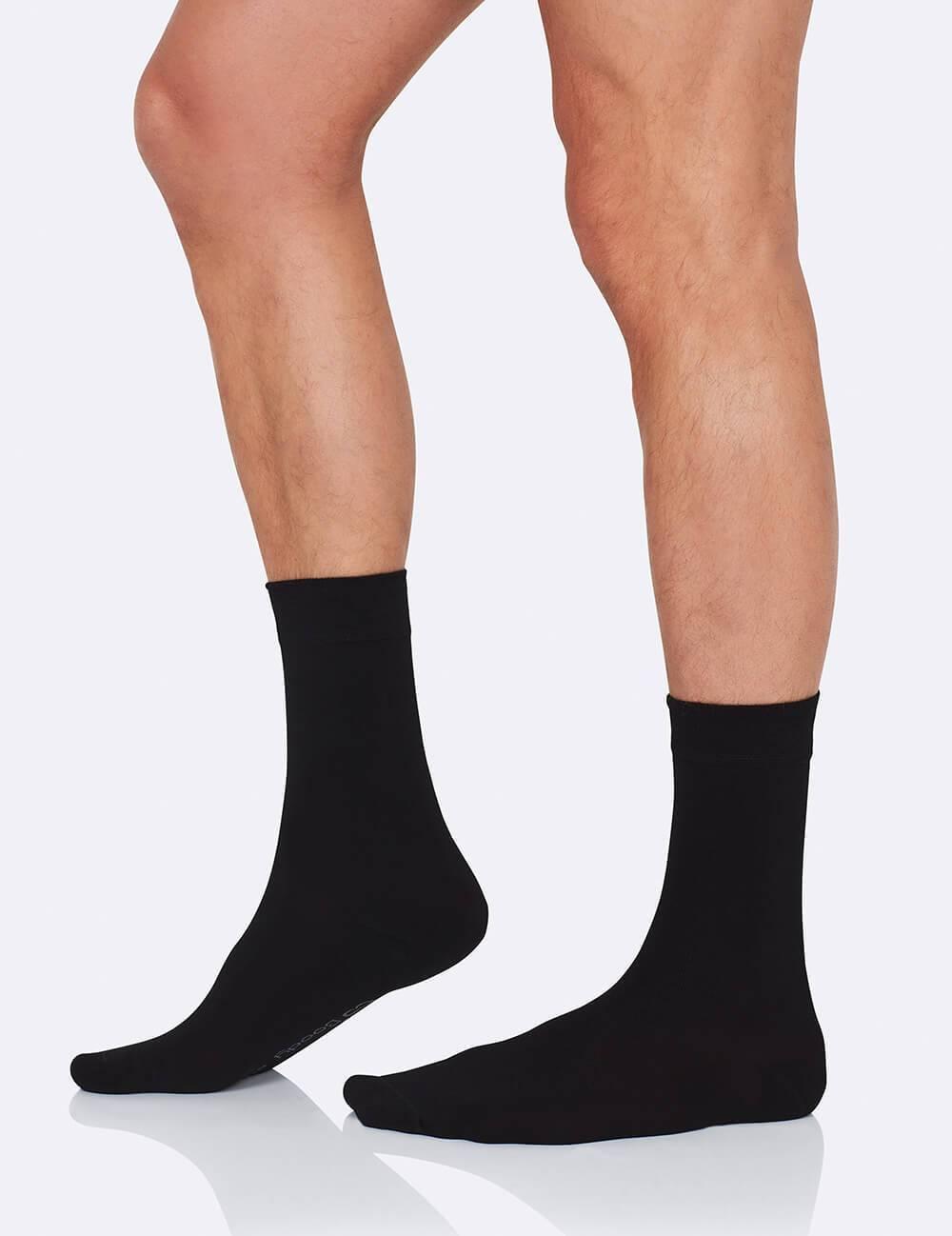 a940beb05c241 Mens Business Socks – Black